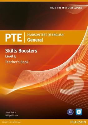 Pearson Test of English General Skills Booster 3 Teacher's Book and CD Pack - Baxter, Steve, and Bloom, Bridget