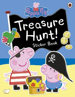 Peppa Pig: Treasure Hunt! Sticker Book -