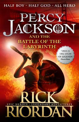 Percy Jackson and the Battle of the Labyrinth (Book 4) - Riordan, Rick