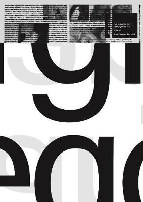 Perforated by: Itziar Okariz and Sergio Prego Spanish Pavilion: Venice Biennale - Okariz, Itziar (Artist), and Prego, Sergio (Artist), and Aguirre, Peio (Text by)