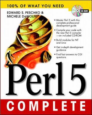 Perl 5 Complete - Peschko, Edward S