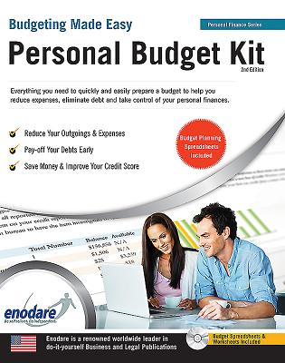 Personal Budget Kit: Including Financial Software - Enodare