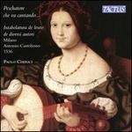 Peschatore che va cantando... Intabolatura de leuto de diversi autori Milano Antonio Casteliono 1536