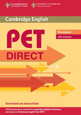 PET Direct Workbook with Answers - Ireland, Sue, and Kosta, Joanna