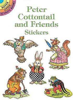 Peter Cottontail Stickers - Stewart, Pat, and Stickers