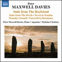 Peter Maxwell Davies: Suites - Aquarius; Peter Maxwell Davies (piano); Nicholas Cleobury (conductor)