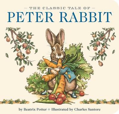 Peter Rabbit Board Book - Santore, Charles