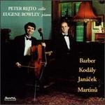 Peter Rejto, cello; Eugene Rowley, piano