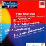 Peter Ronnefeld; Igor Strawinsky; Dmitri Shostakovich...