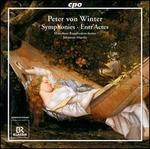 Peter von Winter: Symphonies; Entr'actes