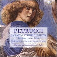 Petrucci: Intavolature di Liuto - Spinacino, Dalza, Bossinensis - Sandro Volta (renaissance lute)