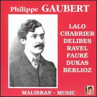 Philippe Gaubert - Marguerite Long (piano); Philippe Gaubert (conductor)