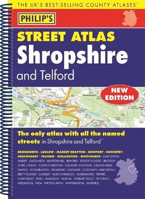 Philip's Street Atlas Shropshire and Telford -