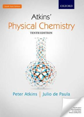 Physical chemistry book by peter w atkins 22 available editions physical chemistry atkins peter and de paula julio fandeluxe Images