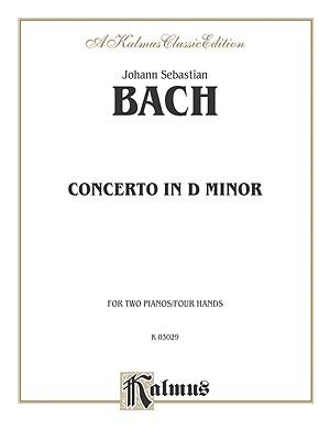 Piano Concerto in D Minor - Bach, Johann (Composer)