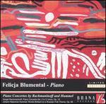 Piano Concertos by Rachmaninov and Hummel