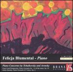 Piano Concertos by Tchaikovsky and Arensky