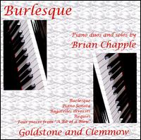Piano Duos and Solos by Brian Chapple - Anthony Goldstone (piano); Caroline Clemmow (piano)