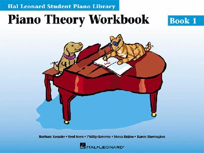 Piano Theory Workbook Book 1: Hal Leonard Student Piano Library - Schroedl, Blake