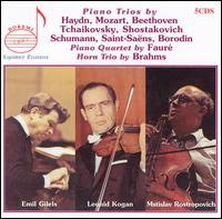 Piano Trios by Haydn, Mozart, Beethoven and Others - Dimitri Tziganoff (violin); Emil Gilels (piano); Leonid Kogan (violin); Mstislav Rostropovich (cello);...