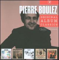 Pierre Boulez: Original Album Classics - Alain Marion (flute); Antony Pay (clarinet); Christine Messiter (flute); Colin Bradbury (clarinet); Daniel Barenboim (piano);...