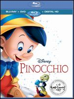 Pinocchio [Includes Digital Copy] [Blu-ray/DVD] [2 Discs] - Ben Sharpsteen; Bill Roberts; Hamilton Luske; Jack Kinney; Norman Ferguson; T. Hee; Walt Disney; Wilfred Jackson