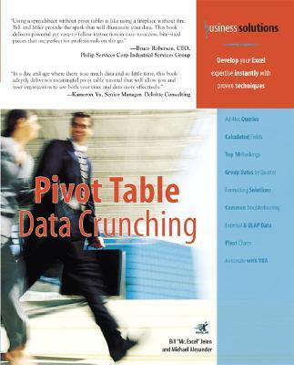 Pivot Table Data Crunching - Jelen, Bill