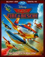 Planes: Fire & Rescue [2 Discs] [Includes Digital Copy] [Blu-ray/DVD]