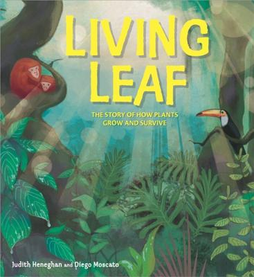 Plant Life: Living Leaf: The Story of How Plants Grow and Survive - Heneghan, Judith