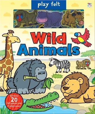 Play Felt Wild Animals - Graham, Oakley