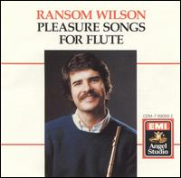 Pleasure Songs for Flute - Allan Vogel (oboe); Clayton Haslop (violin); David Jolley (horn); David Shifrin (clarinet); Douglas Davis (cello); Edward Meares (bass); James Dunham (viola); Kathleen Lenski (violin); Michael Nowak (viola); Michael O'Donovan (bassoon)