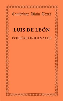 Poesias Originales - Leon, Luis de