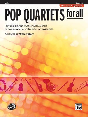 Pop Quartets for All: Violin - Story, Michael