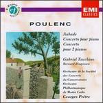 Poulenc: Aubade; Concerto pour piano; Concerto pour 2 pianos