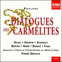 Poulenc: Dialogues des Carmélites - Denise Duval (vocals); Denise Scharley (vocals); Liliane Berton (vocals); Paul Finel (vocals); Régine Crespin (vocals);...