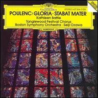 Poulenc: Gloria; Stabat Mater - Kathleen Battle (soprano); Tanglewood Festival Chorus (choir, chorus); Boston Symphony Orchestra; Seiji Ozawa (conductor)