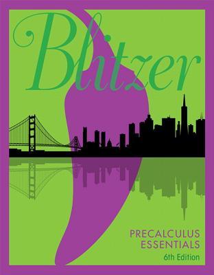 Precalculus Essentials - Blitzer, Robert