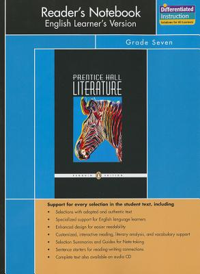 Prentice Hall Literature Penguin Edition Readers Notebook English Learners Version Grade 7 2007c -