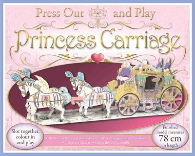 Press Out and Play Princess Carriage - Williamson, Rose