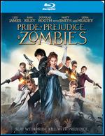 Pride and Prejudice and Zombies [Includes Digital Copy] [UltraViolet] [Blu-ray] - Burr Steers