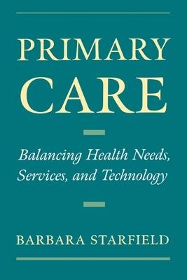 Primary Care - Starfield, Barbara