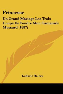 Princesse: Un Grand Mariage Les Trois Coups de Foudre Mon Camarade Mussard (1887) - Halevy, Ludovic