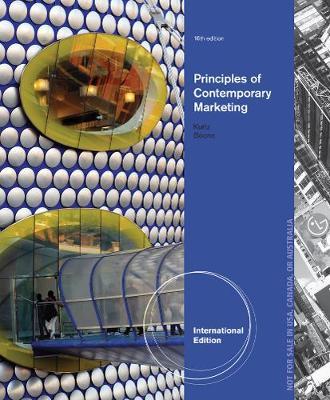 Principles of Contemporary Marketing - Boone, Louis E., and Kurtz, David
