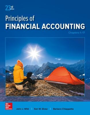 Principles of Financial Accounting (Chapters 1-17) - Wild, John J, and Shaw, Ken, Professor, and Chiappetta, Barbara