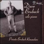 Private Brubeck Remembers [Bonus Interview Disc]