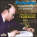 """Prokofiev: Symphonies Nos. 5 & 1 """"Classical"""""""