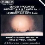 Prokofiev: Symphony No. 4 (Second Version); Lieutenant Kij? Suite