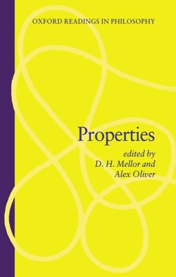 Properties - Mellor, D H (Editor), and Oliver, Alex (Editor)