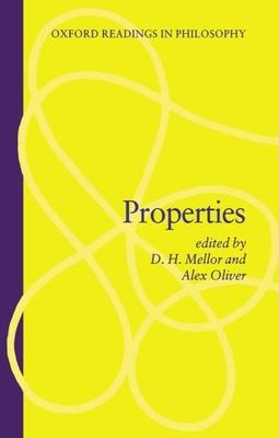 Properties - Mellor, D H (Editor)