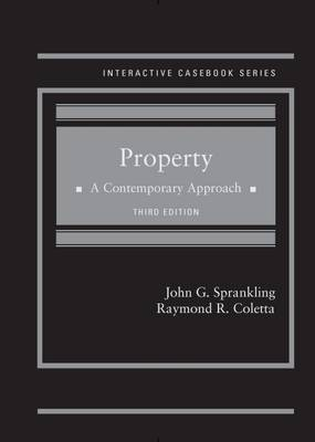 Property a Contemporary Approach - Sprankling, John, and Coletta, Raymond